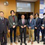 平井デジタル担当大臣を表敬訪問