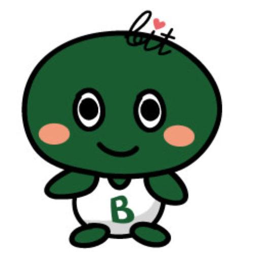 株式会社ビットコミュニケーションズの公式キャラクター「ビットくん」