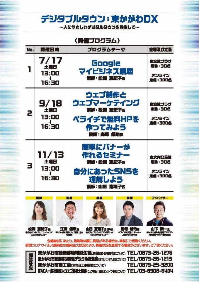 東かがわ市DXセミナー:Googleマイビジネスの活用法について(講師:松岡亜紀子)